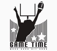 Game Time - Football (Purple) Kids Clothes