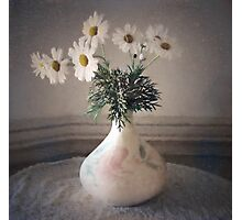 Daisies in a Vase  #2 Photographic Print