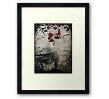 Rain of Rose Petals Framed Print