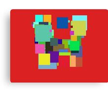Colorful Square Canvas Print