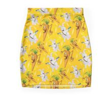 Bad Wabbit vs. Killer Carroy (pattern) Mini Skirt