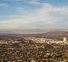 Panorama of Woden in Canberra Australia by glennsphotos