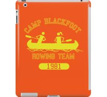 Camp Blackfoot Rowing Team iPad Case/Skin
