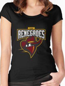 LA Renegades (LoL, CS:GO) Women's Fitted Scoop T-Shirt