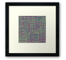 All Color lines: Red, Yellow, Green, .... Framed Print