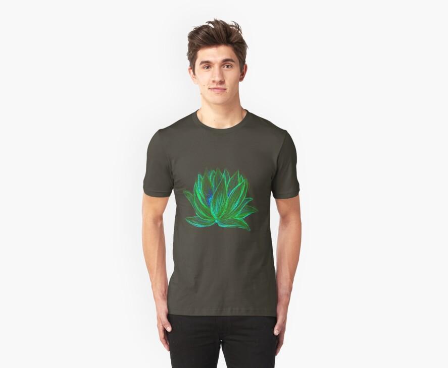 Green Lotus by Rebecca Tripp