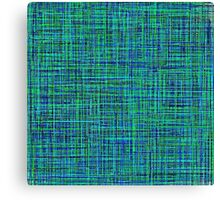 Blue colors like the ocean Canvas Print