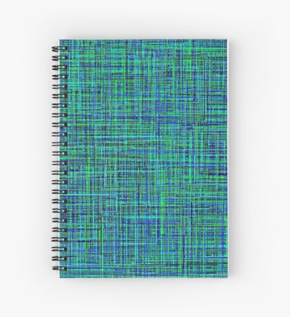 Blue colors like the ocean Spiral Notebook