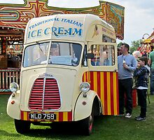 Old Ice-Cream Van: Steam Fair, Dulwich London. by DonDavisUK