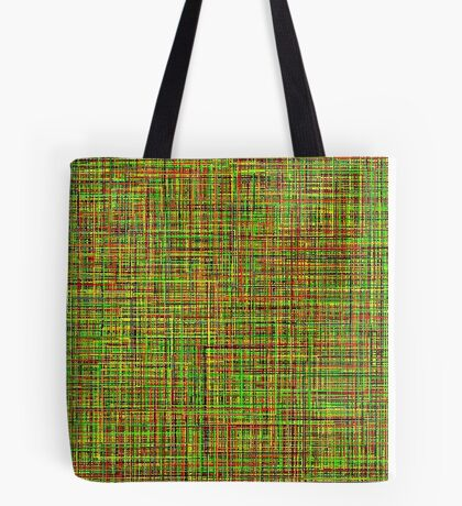 Colormix: Yellow and Green Tote Bag