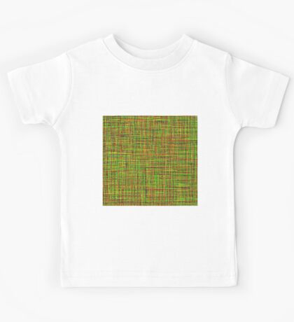 Colormix: Yellow and Green Kids Tee