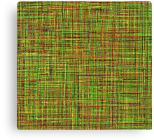 Colormix: Yellow and Green Canvas Print