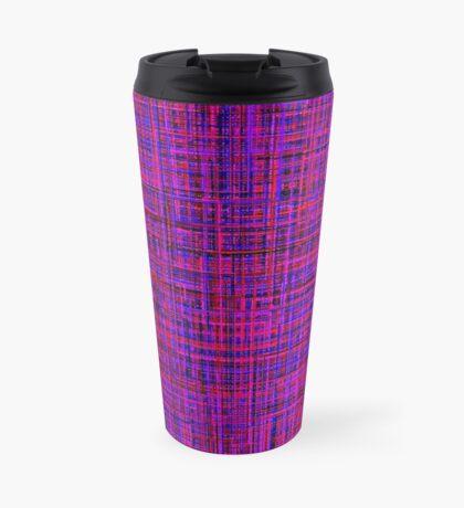Blue and Purple Travel Mug