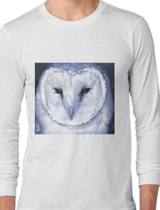 Barn Owl in the Night Long Sleeve T-Shirt