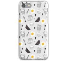 Food pattern iPhone Case/Skin