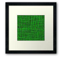 Green, Green, Green, Green Framed Print