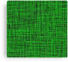 Green, Green, Green, Green Canvas Print