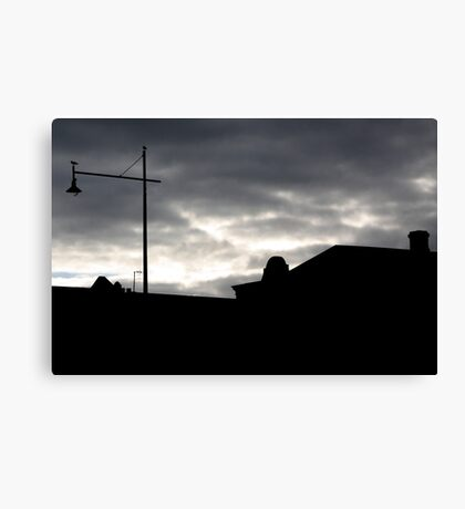 Port Fairy streetscape Canvas Print