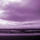 Rain Clouds At Sand Bay by Samantha Higgs