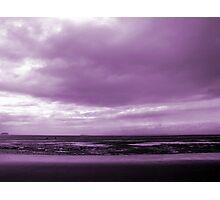 Rain Clouds At Sand Bay Photographic Print