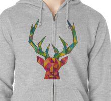 Be A Deer Zipped Hoodie
