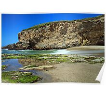 Private Beach Poster