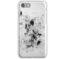 Matrix #2 - Monotype on Wenzhou Paper iPhone Case/Skin