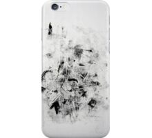 Contraintes et Abandon #10 - Monotype on Wenzhou Paper iPhone Case/Skin