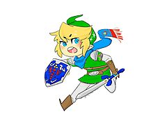 Link - Hero of Hyrule  Photographic Print