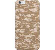 Digital Camouflage Desert iPhone Case/Skin