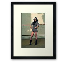Part 1 : A story of a girl Framed Print