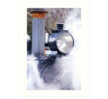 Puffin' Steam Art Print