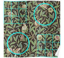 William Morris and Me Squares and Circles Poster
