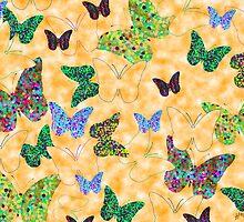 Butterflies I by Alan Hogan