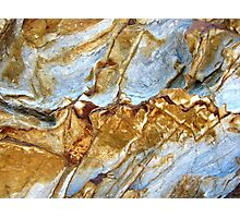 Ice Canyons Photographic Print