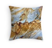Ice Canyons Throw Pillow