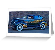 The Wedding Car - Sydney - Australia Greeting Card