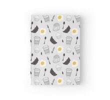 Food pattern Hardcover Journal