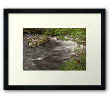 Flowing Strong Framed Print