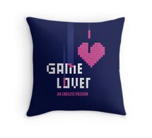 Game Lover Throw Pillow