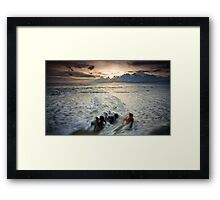 Drag Me to the Sea Framed Print
