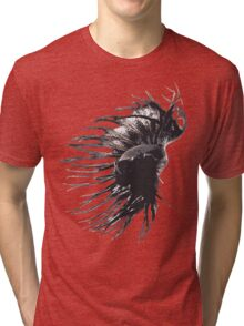 Crowntail Betta Splenden Tri-blend T-Shirt