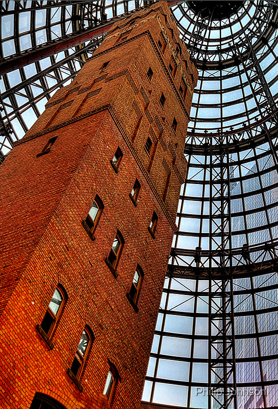 Coops Shot Tower - Angle #3, Melbourne - The HDR Experience by Philip Johnson