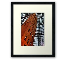Coops Shot Tower - Angle #3, Melbourne - The HDR Experience Framed Print