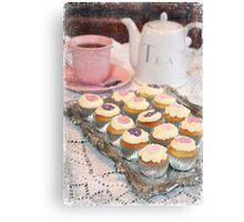 Tea and Cakes Canvas Print