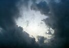 hole in the clouds...   by BCallahan