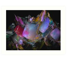 Jelly shields Art Print