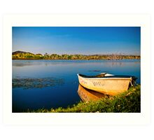 Tinnie - Lake Kununurra Art Print