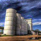 An old feed mill found in Ogalalla, Nebraska by Mike Olbinski