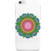 Colour mandala iPhone Case/Skin